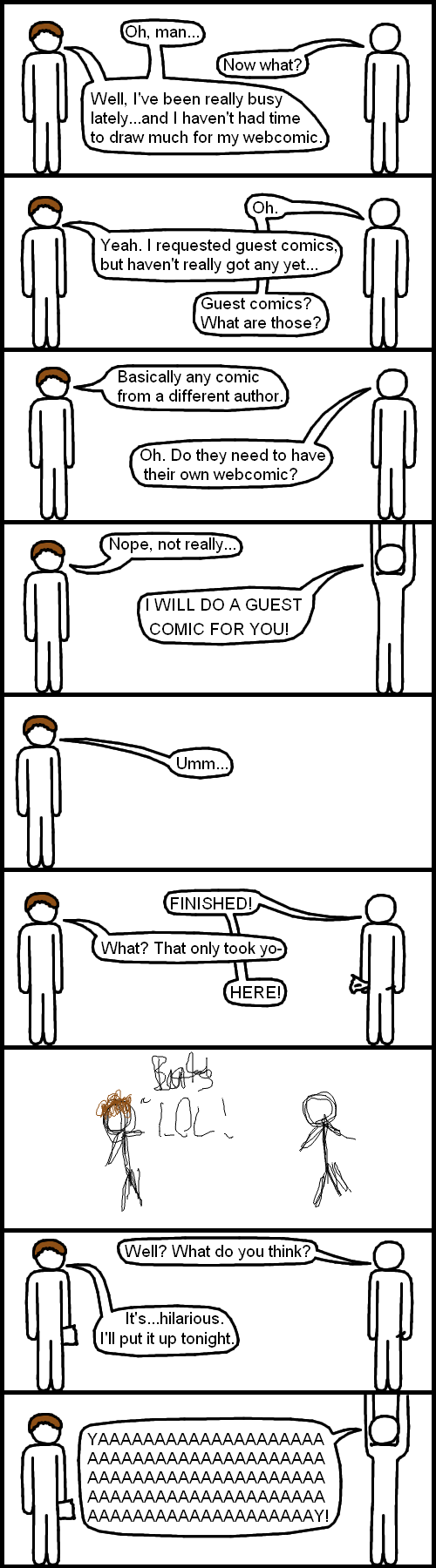 Gues Comic From Jrade